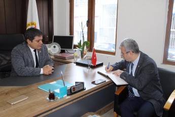 Gazeteciler Cemiyeti Başkanı Sayın Rüstem Kaya Tepe'yi ve Cemiyet Üyelerini Ziyaretimiz.-03