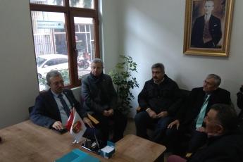 Gazeteciler Cemiyeti Başkanı Sayın Rüstem Kaya Tepe'yi ve Cemiyet Üyelerini Ziyaretimiz.-04