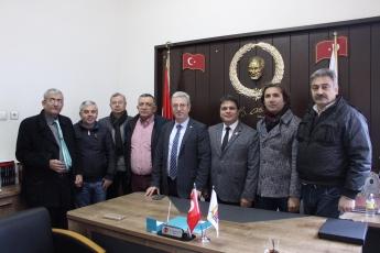 Gazeteciler Cemiyeti Başkanı Sayın Rüstem Kaya Tepe'yi ve Cemiyet Üyelerini Ziyaretimiz.-05