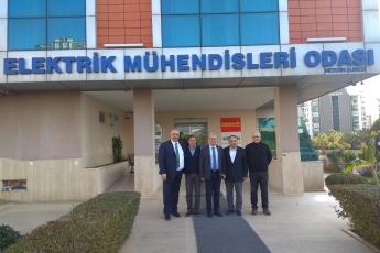 Elektrik Mühendisleri Odası Başkanı Sayın Seyfettin Atar ve Yönetim Kurulu Üyelerini Ziyaretimiz.-04
