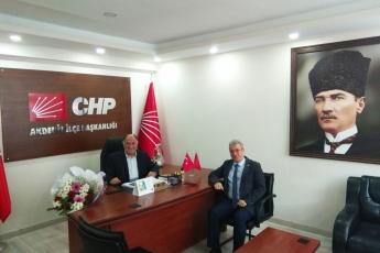CHP Akdeniz İlçe Başkanlığı ve İlçe Örgütümüzü Ziyaretimiz.-01