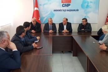 CHP Akdeniz İlçe Başkanlığı ve İlçe Örgütümüzü Ziyaretimiz.-03