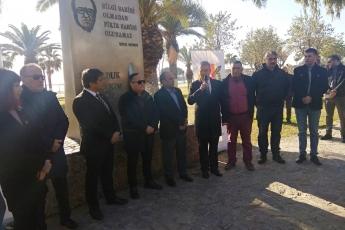 Uğur Mumcu Anıtı Önünde Gazeteciler Cemiyeti ile Uğur Mumcu Anma Töreni  ve Basın Açıklamasına Katılımımız.-02