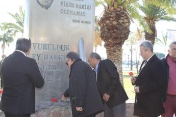Uğur Mumcu Anıtı Önünde Gazeteciler Cemiyeti ile Uğur Mumcu Anma Töreni  ve Basın Açıklamasına Katılımımız.-03
