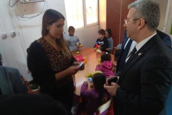 Avustralya Büyükelçi Marc Innes-Brown'ın Roman Dernekleri Federasyonu Projesi Kapsamında Atölye Ziyaretine Katılımımız.-03