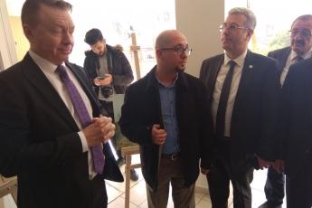 Avustralya Büyükelçi Marc Innes-Brown'ın Roman Dernekleri Federasyonu Projesi Kapsamında AKROMFED Ziyaretine Katılımımız.-02