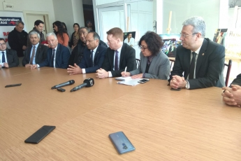 Avustralya Büyükelçi Marc Innes-Brown'ın Roman Dernekleri Federasyonu Projesi Kapsamında AKROMFED Ziyaretine Katılımımız.-04