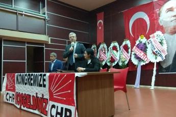 CHP Adıyaman İli Merkez İlçe Kongresine Divan Başkanı Olarak Katılımımız.-05