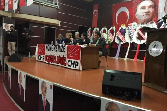 CHP Adıyaman İli Merkez İlçe Kongresine Divan Başkanı Olarak Katılımımız.-06