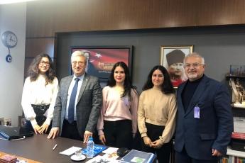 Akademizyen Ali İhsan Kamalak Hocamız ve Mersinli Öğrencilerin TBMM'de Bizi Ziyaretleri.