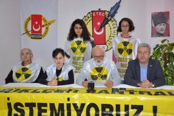 Gazeteciler Cemiyetinde NKPnin Fay Hattı Üzerindeki Nükleer Santral Hakkında Basın Açıklamasına Katılımımız.-01