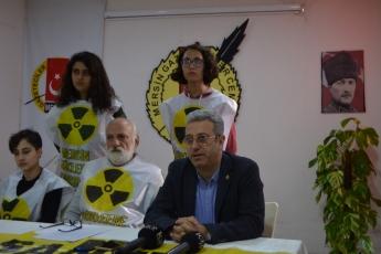Gazeteciler Cemiyetinde NKPnin Fay Hattı Üzerindeki Nükleer Santral Hakkında Basın Açıklamasına Katılımımız.-04