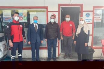 Kızılay'ın emektarı, değerli dostum Doktor Ali Tamam'la beraberiz...