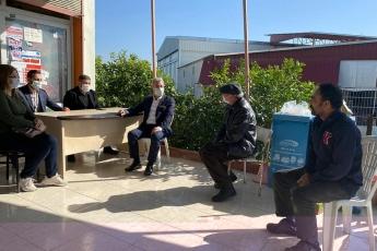 Mezitli İlçemizin Şahintepesi Mahallesi Muhtarımızı İlçe Başkanımız Ahmet Serkan Tuncer ile birlikte Ziyaret Ettik.