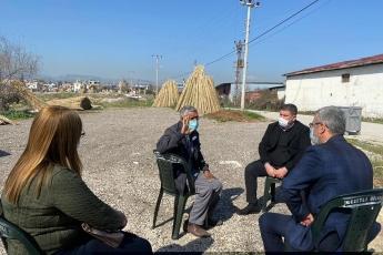 Mezitli İlçemizin Hürriyet Mahallesi Muhtarımızı İlçe Başkanımız Ahmet Serkan Tuncer ile birlikte Ziyaret Ettik.