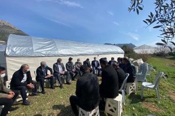 Milletvekilimiz Sayın Cengiz Gökçel ile birlikte Irak'ın Kuzeyi Gara'da Şehit olan Mersinli şehidimiz Sedat Yabalak'ın  ailesine taziye ziyaretinde bulunduk.