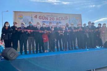 Tarsus Belediyemizin Mithatpaşa Mahallesine Kazandırmış Olduğu, Muhtarlık Binası, Cami, Taziye Evi, Aile Sağlık Merkezinin açılışını yaptık. Tüm hemşerilerimize hayırlı ve uğurlu olsun.