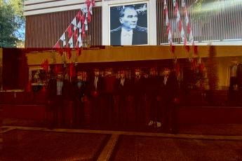 Büyükşehir ve İlçe Belediye Başkanlarımız  ile birlikte..