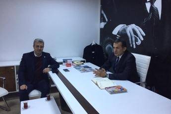 CHP Mersin Yenişehir Belediyesi Başkan Adayımız Abdullah ÖZYİĞİT'i Ziyaretimiz