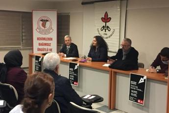 Mersin Tabip Odası ve IHD ile KHK Mağdurları Paneline Katılımımız-01