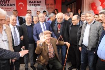 CHP Akdeniz Belediye Başkan Adayımız Sabit YELKOVAN'ın Seçim Ofisi Açılışına Katılımımız-05