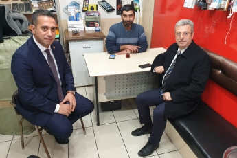 Akdeniz İlçesi Tarihi Zafer Çarşısı Esnafını Ziyaretimiz.-02