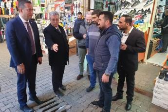 Akdeniz İlçesi Tarihi Zafer Çarşısı Esnafını Ziyaretimiz.-03