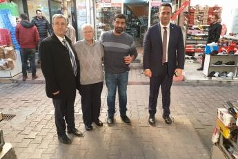 Akdeniz İlçesi Tarihi Zafer Çarşısı Esnafını Ziyaretimiz.-06