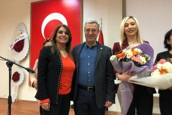 CHP Akdeniz İlçe Kadın Kolları Kongresine Katılımımız.-04