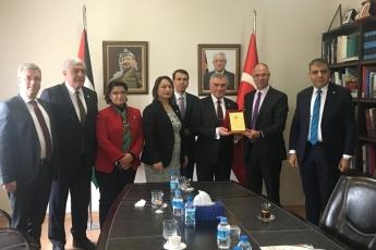 CHP Heyeti Olarak Filistin Ankara Büyükelçisi Dr.Faed Mustafa yı Ziyaretimiz.-01