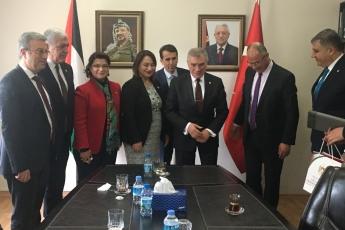 CHP Heyeti Olarak Filistin Ankara Büyükelçisi Dr.Faed Mustafa yı Ziyaretimiz.-02
