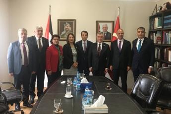 CHP Heyeti Olarak Filistin Ankara Büyükelçisi Dr.Faed Mustafa yı Ziyaretimiz.-03