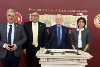 CHP Milletvekilleri Olarak Sn.İbrahim Özden KABOĞLU nun TBMM deki Basın Toplantısına Katılımımız.