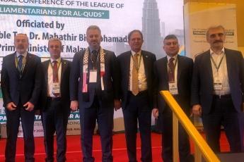 Filistin Halkı İle Dayanışma İçin, Kudüs ün İşgaline Engel Olma Amacı İle TBMM Heyetimiz İle Birlikte Malezya Kuala Lumpur da Konferansa Katılımımız.-02
