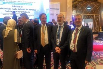 Filistin Halkı İle Dayanışma İçin, Kudüs ün İşgaline Engel Olma Amacı İle TBMM Heyetimiz İle Birlikte Malezya Kuala Lumpur da Konferansa Katılımımız.-03