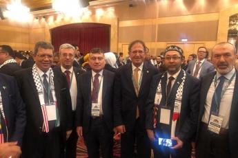 Filistin Halkı İle Dayanışma İçin, Kudüs ün İşgaline Engel Olma Amacı İle TBMM Heyetimiz İle Birlikte Malezya Kuala Lumpur da Konferansa Katılımımız.-04