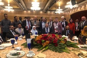 Filistin Halkı İle Dayanışma İçin, Kudüs ün İşgaline Engel Olma Amacı İle TBMM Heyetimiz İle Birlikte Malezya Kuala Lumpur da Konferansa Katılımımız.-05