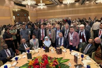 Filistin Halkı İle Dayanışma İçin, Kudüs ün İşgaline Engel Olma Amacı İle TBMM Heyetimiz İle Birlikte Malezya Kuala Lumpur da Konferansa Katılımımız.-06