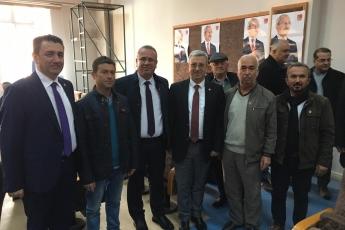 Karaman Milletvekilimiz Av.İsmail Atakan Ünver ile birlikte , Divan Başkanlığını yaptığımız CHP Karaman İl Kongresine Katılımımız.-01