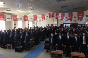 Karaman Milletvekilimiz Av.İsmail Atakan Ünver ile birlikte , Divan Başkanlığını yaptığımız CHP Karaman İl Kongresine Katılımımız.-02