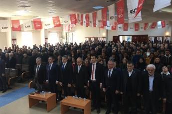 Karaman Milletvekilimiz Av.İsmail Atakan Ünver ile birlikte , Divan Başkanlığını yaptığımız CHP Karaman İl Kongresine Katılımımız.-03