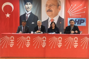 Genel Başkan Yardımcımız Umut Oran ve Karaman Milletvekilimiz Av.İsmail Atakan Ünver ile Birlikte CHP Karaman İl Kongresine Katılımımız.-04