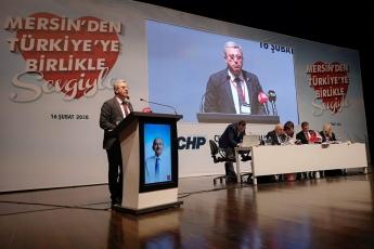 CHP Mersin İl Başkanlığı Kongresine Katılımımız.-04