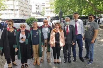 2020-07-09- Baro Başkanlarımızın Kuğulu Parktaki Nöbetlerinde Yanlarında Olduk - 1