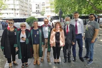 2020-07-09- Baro Başkanlarımızın Kuğulu Parktaki Nöbetlerinde Yanlarında Olduk - 2