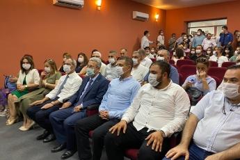 2020-07-17 -  Tarsus Belediye Başkanımızla birlikte Tarsus Belediyesi Bilim, Eğitim, Sanat ve Kültür Akademisi Açılışına Katıldık - 2