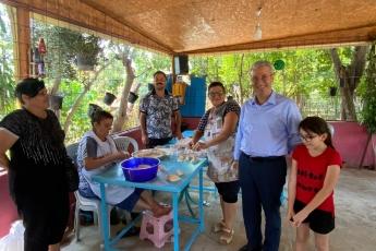 2020-07-17 - Musalla Mahalle Muhtarımızı ve Mahalle Halkını Ziyaret Ettik - 2