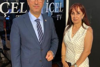2020-07-17 - İçel Tv Nil Sezer ile Hayatın Trafiği Programına Katıldık - 2