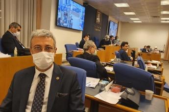 2020-07-23 - AKP'nin sansür, yasaklama ve fişleme önerisi olan Sosyal Medya Yasa Teklifini görüşmek üzere Mecliste Adalet Komisyonu'nda toplandık - 2