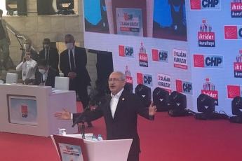 """2020-07-25- 37. Olağan Kurultayımızın parolası belli: """"Hedef İktidar""""  Cumhuriyet Halk Partisi iktidarı ile de tüm Türkiye'ye bahar gelecek - 3"""
